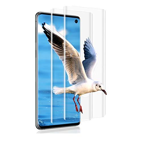 Wlife Panzerglas [2 Stück] kompitabel Samsung Galaxy S10 9H Festigkeit HD 2.5D Bildschirmschutzfolie 0.33mm Ultra-klar Anti-Bläschen Panzerglas Folie Frei von Kratzern Schutzfolie für Samsung Galaxy S10