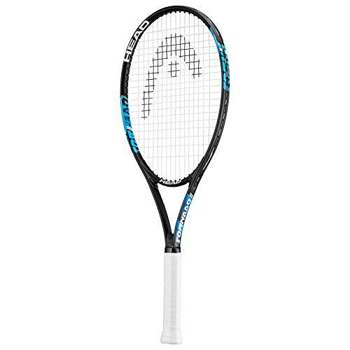 HEAD Ti.Tornado - Raqueta de tenis de titanio (incluye funda protectora, tamaño L3)
