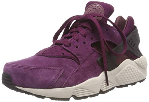 Nike Herren AIR Huarache Run PRM Gymnastikschuhe, Rot (Bordeaux Lt Bone/Black/Deep Burgundy 603), 41 EU