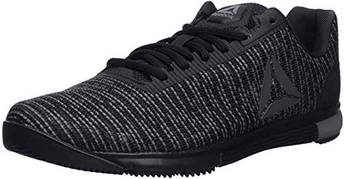Reebok Men's Speed TR Flexweave Cross Trainer, Black/Shark/Black, 9.5 M US