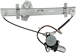 MILLION PARTS Rear Left Side Power Window Regulator with Motor for 2001 2002 2003 2004 2005 2006 Acura MDX Base//Touring Sport Utility 4-Door 3.5L V6
