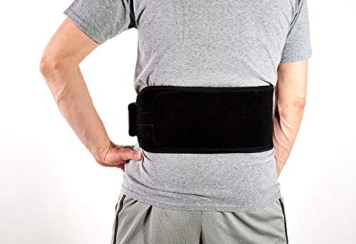 Sharper Image Cordless Lower Back Heat Therapy Wrap - L/XL