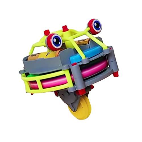 Toddmomy Vaso Monociclo Juguete Creativo Spinning Anti Gravedad Novedad Juguetes Eléctrico Educativo...