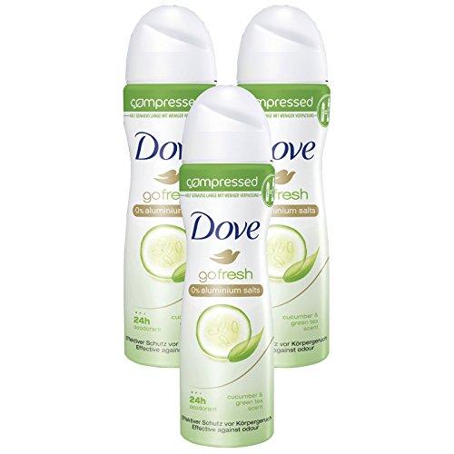 Rexona Compressed G Fresh Deo-Spray, 3er Pack (3 x 75 ml)