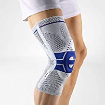 Bauerfeind - GenuTrain P3 - Knee Support - for Misalignment of The Kneecap - Right Knee - Size 3 - Color Titanium