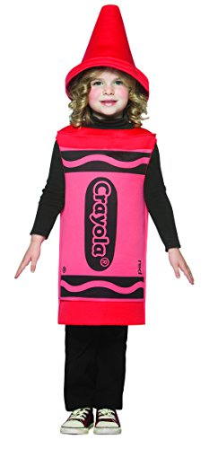 Crayola Crayons - Edad 04/06 - Disfraz infantil, 3-4t, Rojo