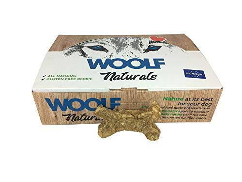 Woolf Snack Naturals Huesos Ternera/Ave/Yuca. Caja 30 und