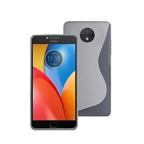 Silikon S-LINE -gel in Transparente Abdeckung Tasche Case Hülle für Motorola Moto E4 Plus