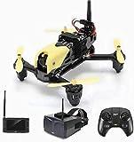 RVTYR H122D X4 tempête 5.8G RC Racing Drone avec 720P Caméra HD vidéo en Direct Résistance au Vent à Haute Vitesse Quadcopter avec Lunettes Moniteur LCD Drone avec Camera