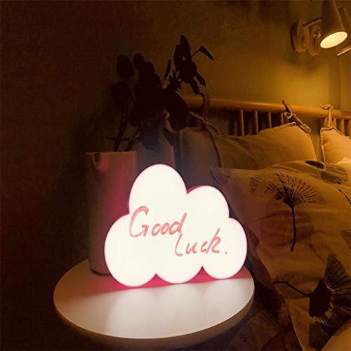 Watopi - Caja de luces para escribir en la nube con luz LED, cajas de luz que puedes escribir a mano, cajas de luz para decoración del hogar, fiestas divertidas y bodas