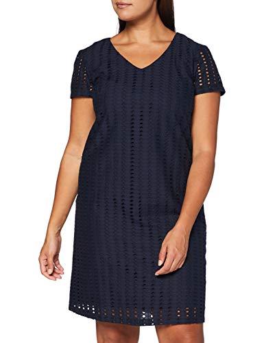 Esprit Damen 050EE1E327 Kleid, 400/NAVY, 38
