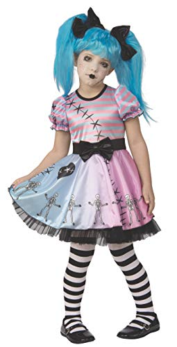 Rubie's Opus Collection Child's Little Blue Skelly Costume, Small