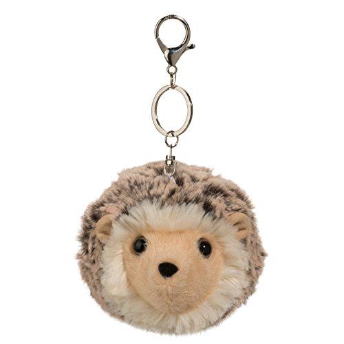 Cudddle Toys 1034 Hedgehog POM CLIP egel stekeldier bruin knuffeldier pluche speelgoed sleutelhanger tashanger