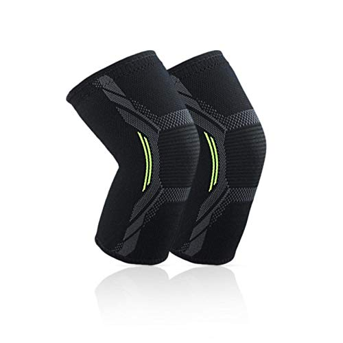 Genouillères De Protection, Fitness Running Cyclisme Genouillères Respirant Sweat - Absorbant...