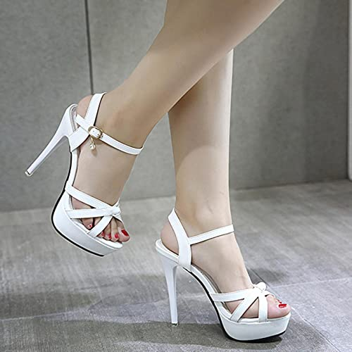 TER Zapatos de Mujer, Sandalias de Verano para Mujer, Zapatos de tacón...