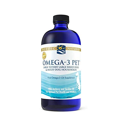 Nordic Naturals Omega-3 Pet Oil Supplement,...