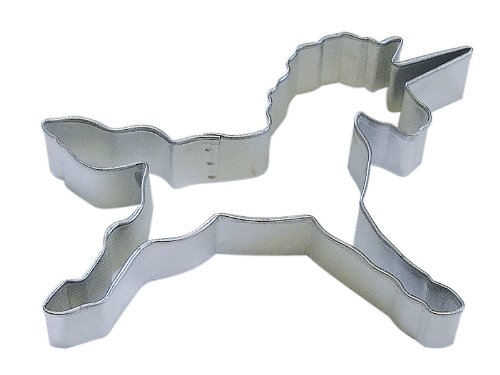 R&M Unicorn 4.5' Cookie Cutter in Durable, Economical, Tinplated Steel
