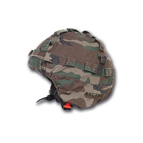 Patton Copricasco per Moto Telino Militare in cotone Rip-Stop Mimetico