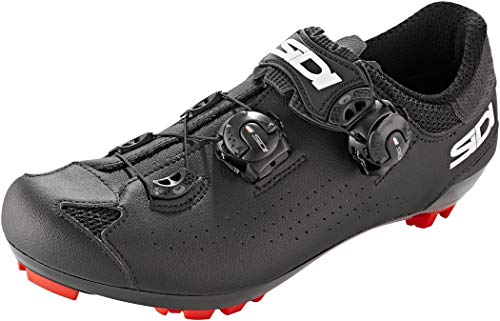 Sidi Dominator 10 MTB Shoes (9, Black/Black)