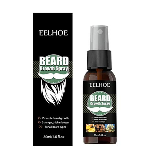 AIHOME Beard Oil for Men with Castor Oil Serum Conditioner Light Magic Scent, 100 Pure Natural Premium Beard Growth Oil to Cure Beard Itch, Soften, Moisturizing & Strengthen Mustaches