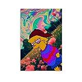 Trippy - Póster de Lisa Simpson (30 x 45 cm)