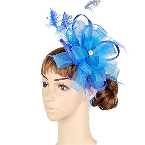 Élégant Serre-Tête Fascinator Hat Aliceband Mariage Royal Ascot Mesdames Jour