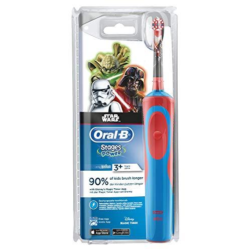 Oral-B - Cepillo eléctrico para niños Star Wars.