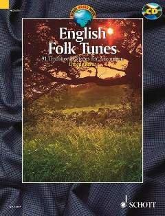 Firma MDS Schott music distribution English Folk Tunes - arrangiert für Akkordeon - mit CD [Noten/Sheetmusic] Komponist: Oliver David