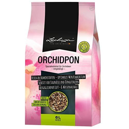 LECHUZA 19581 ORCHIDPON Orchideenerde, neutral, 6 Liter