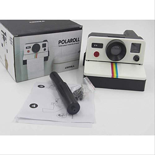FHFF Creatieve Retro Polaroid Camera Vorm Geïnspireerd Tissue Boxes/Toilet Roll Papier Houder Doos Met Doos
