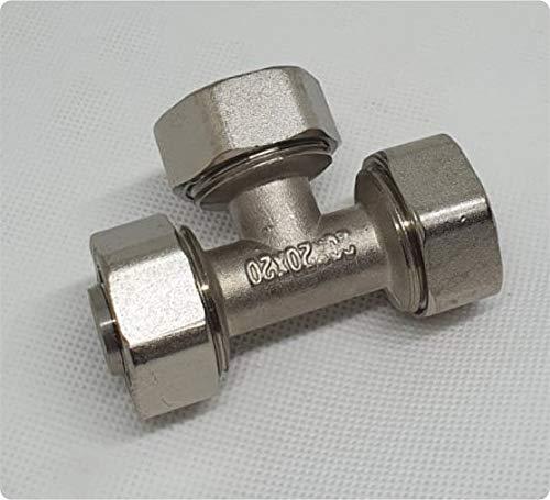 Alamor 6 mm 8 mm 10 mm Laiton T Piece 3 Way Connecteur De Tuyau De Carburant Pour Gaz DHuile DAir-12 mm