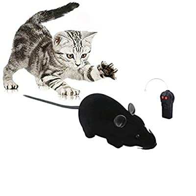 Rat Toy, Scoolr RC Funny Wireless Electronic Remote Control Mouse Rat Pet Toy For Cats Dogs Pets Kids Novelty Gift