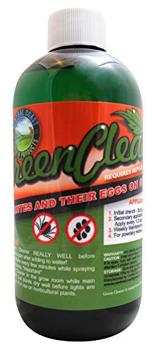 Central Coast Garden Green Cleaner 8 Ounce - all Natural Pesticide - Exterminates Broad Mites and Russet Mites - Soybean Oil Based