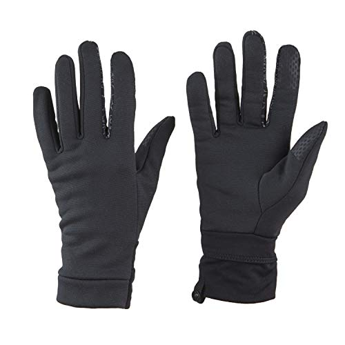 VIA by SKL Style - Guantes reflectantes para mujer, color negro