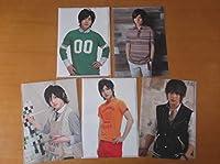 山田涼介 Hey!Say!JUMP クリアファイル 5点 :SUMMARY2008 「Hey! Say! JUMP CONCERT TOUR '09春 」 ASIA FIRST TOUR 2012 他 ジャニーズグッズ