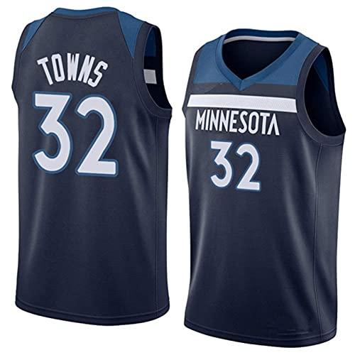 CAMILYIN Camiseta deportiva de baloncesto NBA # 32, transpirable, resistente al desgaste,...