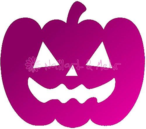 1 vel Airbrush-sjablonen/lak-sjablonen, zelfklevend: #HLW-014 pompoenen, Halloween