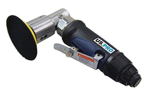 US PRO Druckluft Exzenterschleifer 75 mm Tellerschleifer Poliermaschine Winkelschleifer