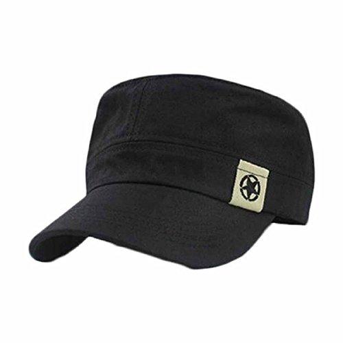 TUDUZ Baseball Cap Militärhut Hut Flachdach Flat Roof Mütze Unisex Kappe Verstellbar Erwachsenen Mütze Sommer Cappy