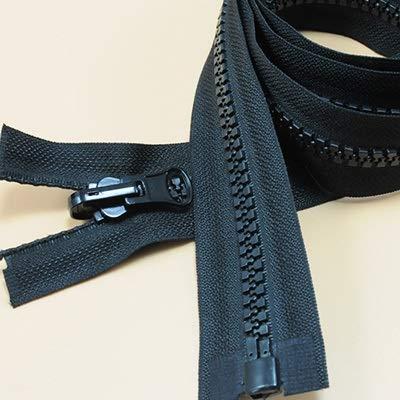 LIHAITAO Ritssluitingen #8 60-300cm lange hars Ritssluitingen voor het naaien van tenten Jas Donsjack slaapzakken Boot Cover Canvas Plastic Ritssluitingen Bulk