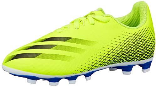 adidas X Ghosted.4 FxG J Fußballschuhe, Unisex, Kinder, Mehrfarbig (Amasol Negbas Azura), 36 EU