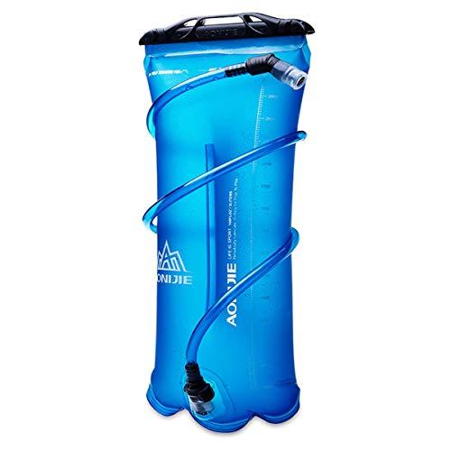 Win.Deeper 1.5/2/3L Bolsa de Agua Portátil para Mochila de Senderismo Campamento Ciclismo (3L)