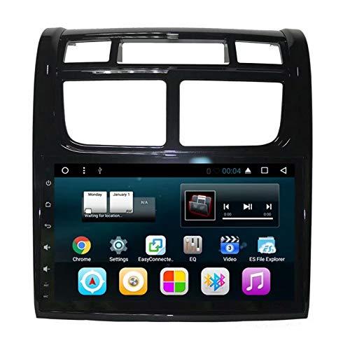 TOPNAVI 2Din Unité Centrale 9 Pouces pour Kia Sportage 2007 2008 2009 2010 2011 2012 2013 2014 2015 2016 Android 7.1 Radio Stéréo Navigation GPS WiFi 3G RDS Lien Miroir FM AM