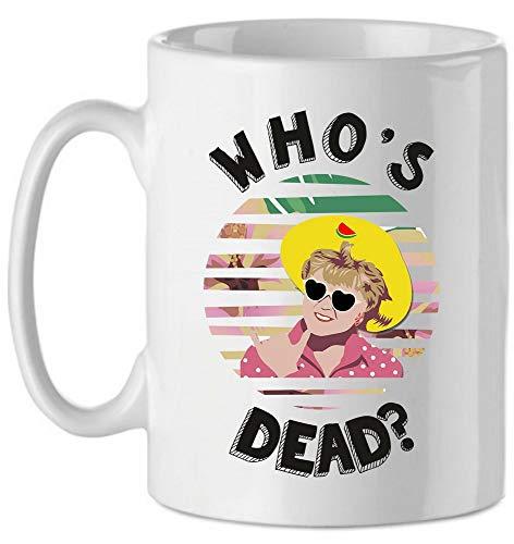 bubbleshirt Tazza Mug in Ceramica La Signora in Giallo - Who's Dead? - Anni 80 - Jessica Fletcher - Serie TV