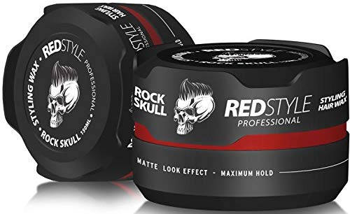 Redstyle Professional Haarwachs Haarwax Styling (Rot) 3er Pack x 150ml