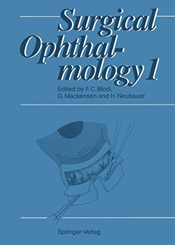 Surgical Ophthalmology: Volume 1