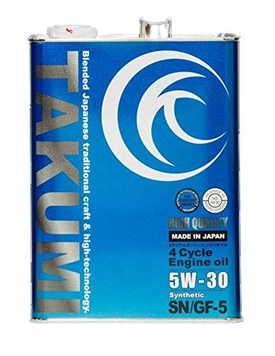 エンジンオイル 4L 5W-30  化学合成油HIVI TAKUMIモーターオイル 送料無料 HIGH QUALITY
