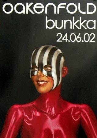 Oakenfold: Bunkka / original UK Promotion Poster