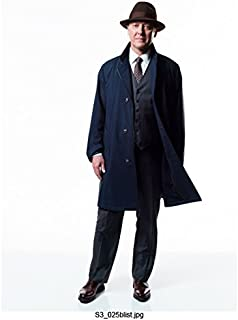 The Blacklist (TV Series 2013 - ) 8 Inch x10 Inch James Spader Blue Coat Over Grey Suit Brown Hat w/White Background kn