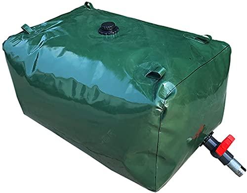WXking Bolsa de Almacenamiento de Agua de Gran Capacidad Plegable, contenedor de Almacenamiento de Agua portátil con espesas al Aire Libre, Tanque de Almacenamiento de Emergencia de Agua de Lluvia de